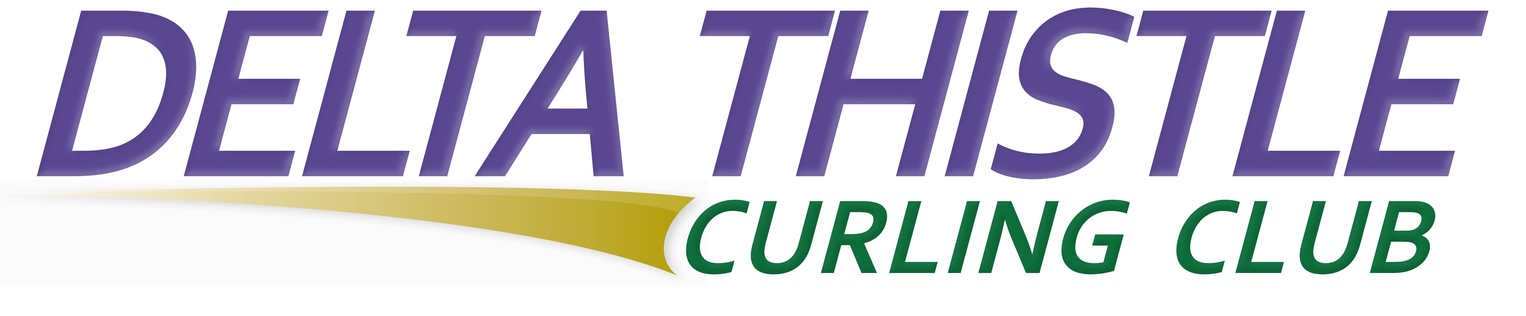 Logo   delta thistle curling club