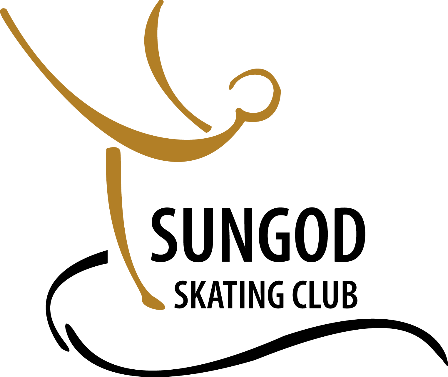 Logo   sungod skating club